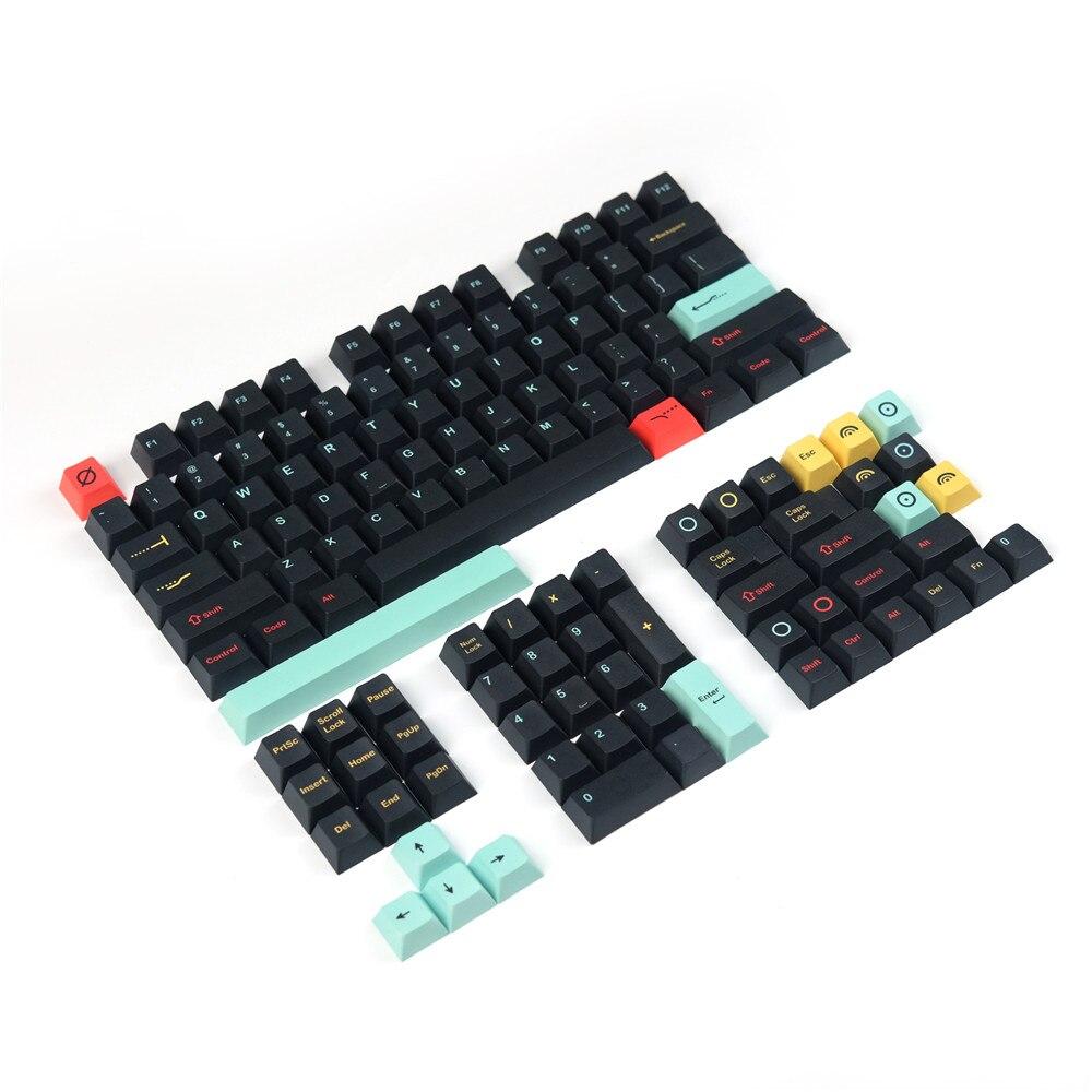130 مفتاح/مجموعة متروبوليس 5 الجانبين صبغ التسامي بت كيكابس ل مكس التبديل مخصصة الميكانيكية لوحة المفاتيح الكرز الشخصي