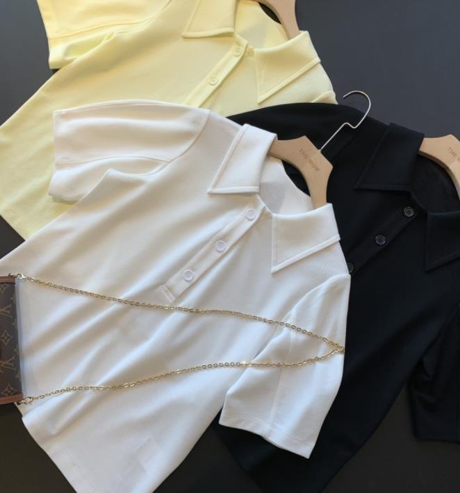 Summer Casual T-shirt Women Short Sleeve T-Shirt Top