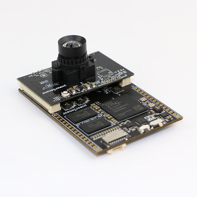 Línea de procesamiento de imagen de cámara inteligente PowerSensor color patrol QR rendimiento de código más allá de OpenMV4