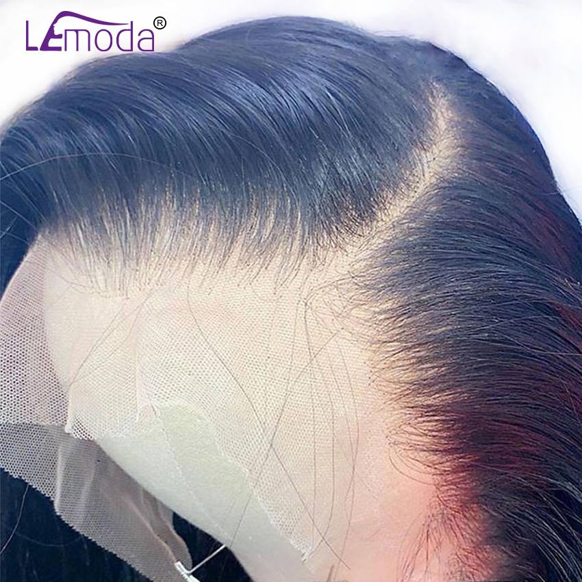 HD Transparent Lace Wigs 13x6 Lace Front Human Hair Wig Lemoda Remy Wig For Women Brazilian 28 30 Inch Straight Lace Frontal Wig