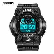 Fashion Men Digital Watches Waterproof Mens Sport Male Wristwatches Relogio Masculino Military LED M