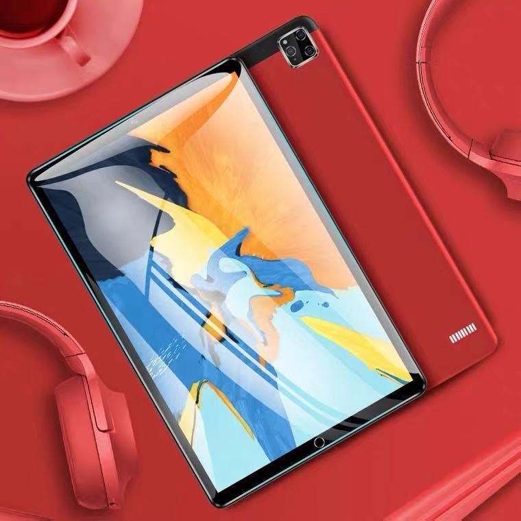 Tablet novo 2021 polegadas, 6g + 10.1 gb, android 128, full netcom 4g, 2 em 1, máquina de aprendizagem adequada para a linha de glória huawei