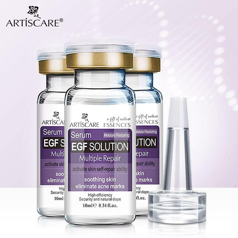 ARTISCARE EGF suero blanqueador hidratante antiarrugas tratamiento de acné piel con espinillas cuidado Set Esencia de reparación antiedad 3 uds