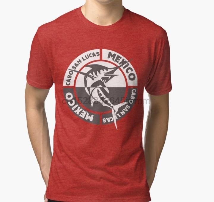 Camiseta de hombre Cabo San Marcos Pez espada camiseta estampada camisetas