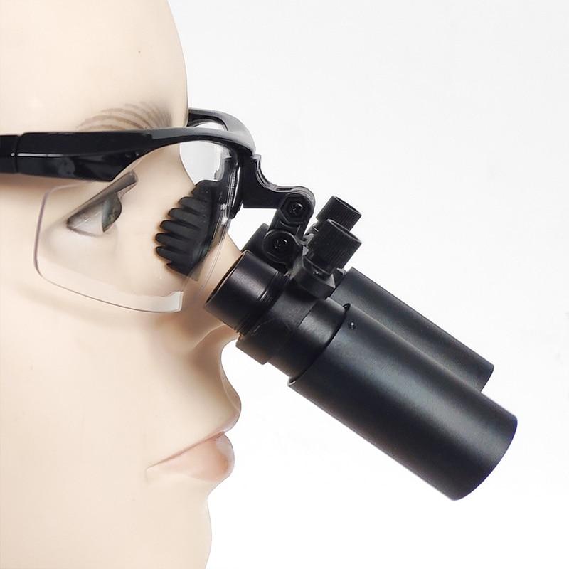 بريزم الطبية الجراحية الأسنان 6.0X كبلر مجهر المكبر Loupes ENT الأسنان العيون مع LED المصباح (FDJ-X-6.0X)