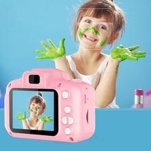 Nouvelle arrivée pas cher Rechargeable Photo vidéo lecture caméras enfants jouet pour fille 1080P Mini enfants caméra enfant cadeau danniversaire