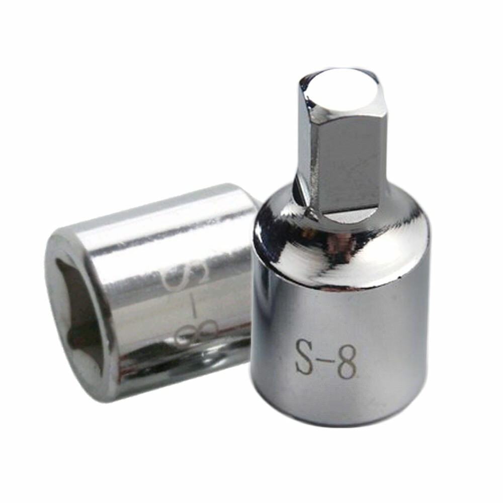 8mm רכב אוטומטי כיכר שמן עוקה ניקוז תקע מפתח כלי מסיר מתאים עבור רנו סיטרואן פיג ו רכב אבזרים