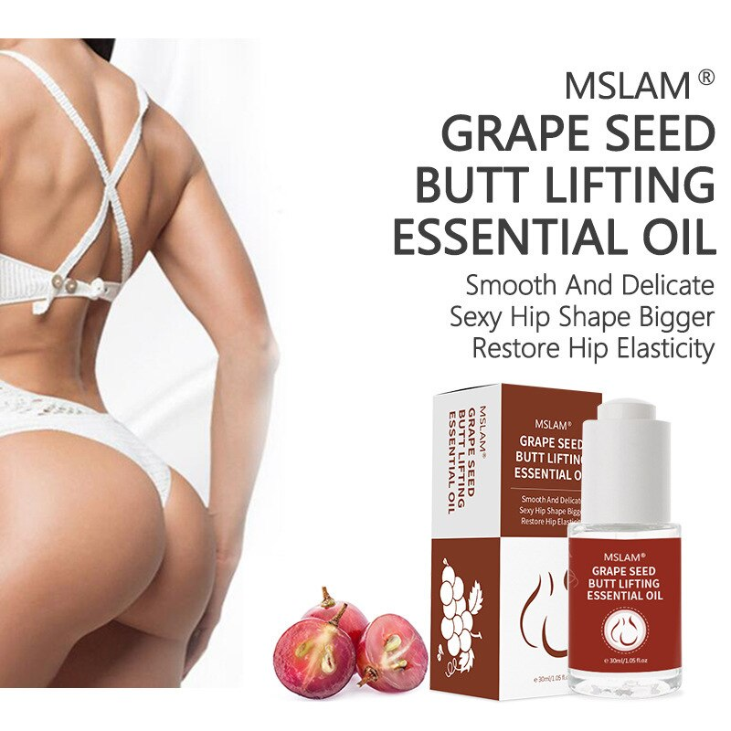 Carry Sexy Hip Buttock Enlargement Essential Oil Effective Lifting Firming Hip Lift Up Butt Beauty B