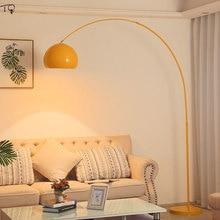 Nordic Minimalist Macaroon Fishing Floor Lamp Iron Art Decor Home Led Metal Standing Lamp Living Room Bedroom Sudio Cafe Study