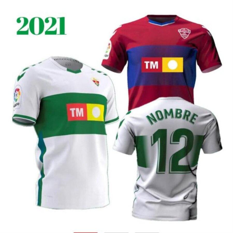 Camisa de fútbol del equipo ELCHE CF, equipación de casa, distancia, 8,...