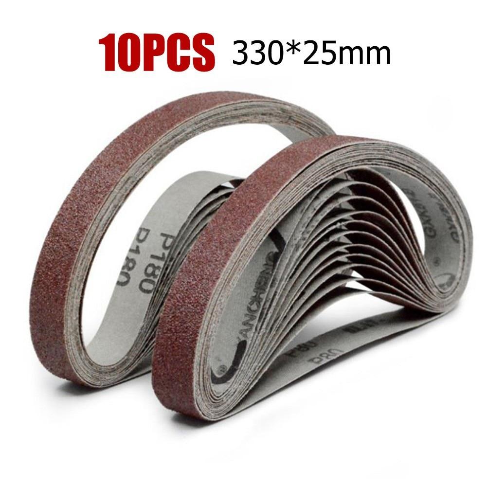 Ремни шлифовальные для угловой шлифовальной машины, 25*330 мм, 40-Грит