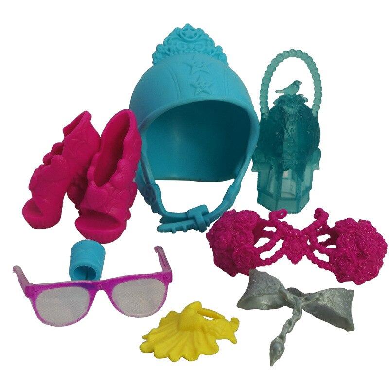 Conjunto de accesorios para gafas y zapatos para niñas, juego de muñecas...