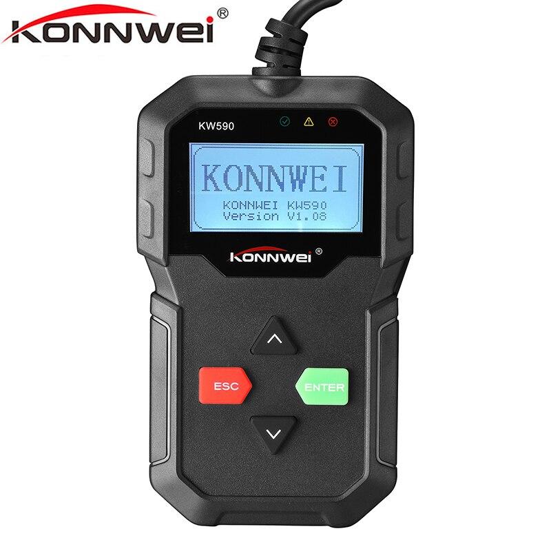 Escáner OBD2 OBD para diagnóstico de coche, herramienta Profesional OBDII, compatible con...