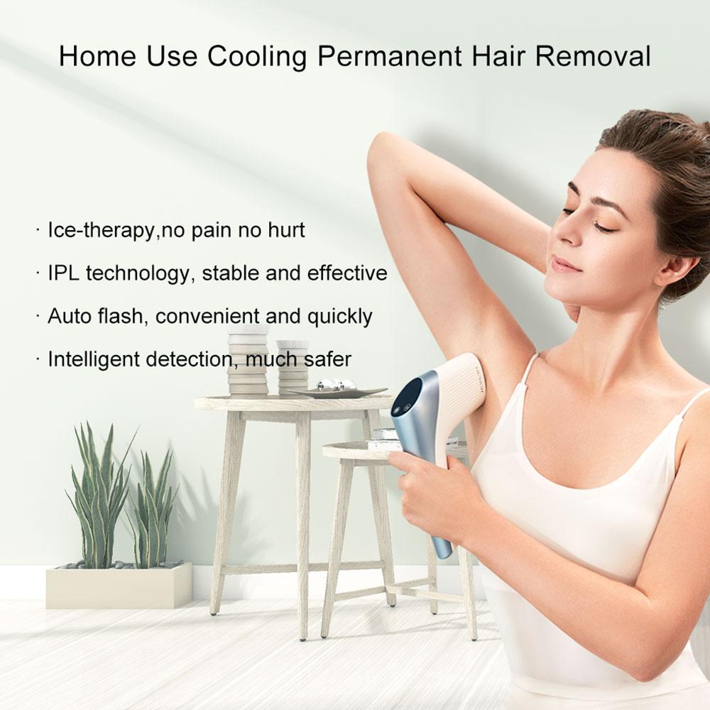 MISMON 208B Epilator Laser Ice Cooling Care Painless Depilator for Women IPL Hair Removal Machine Female Trimmer 900000 Flahses enlarge