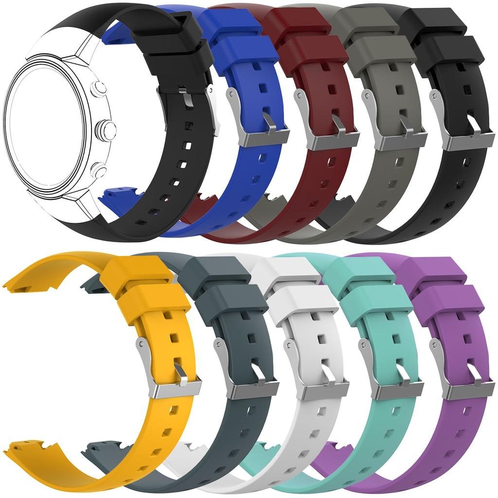 EiEuuk-Correa de silicona suave para reloj inteligente ASUS ZENWATCH 3, accesorio de...