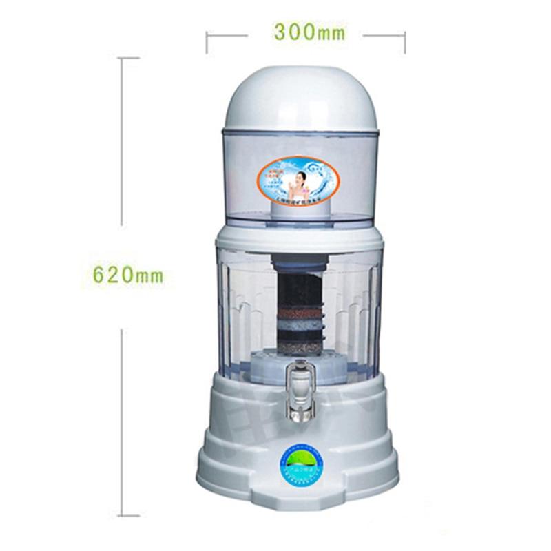 008 02l min cano de agua do filtro filtro de tratamento de agua mineral pote 16l