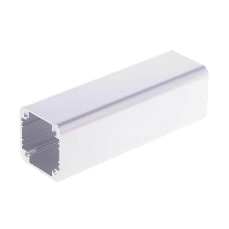 Nueva caja de aluminio para proyecto electrónico extruido DIY negra 100x32x32mm