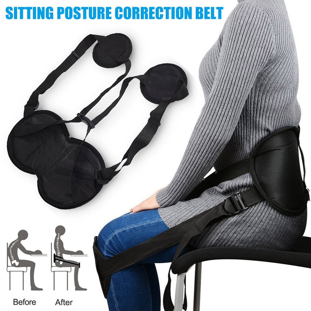Seating Adjustable Posture Corrector Waist Protectors for Back Shoulder Lumbar A7