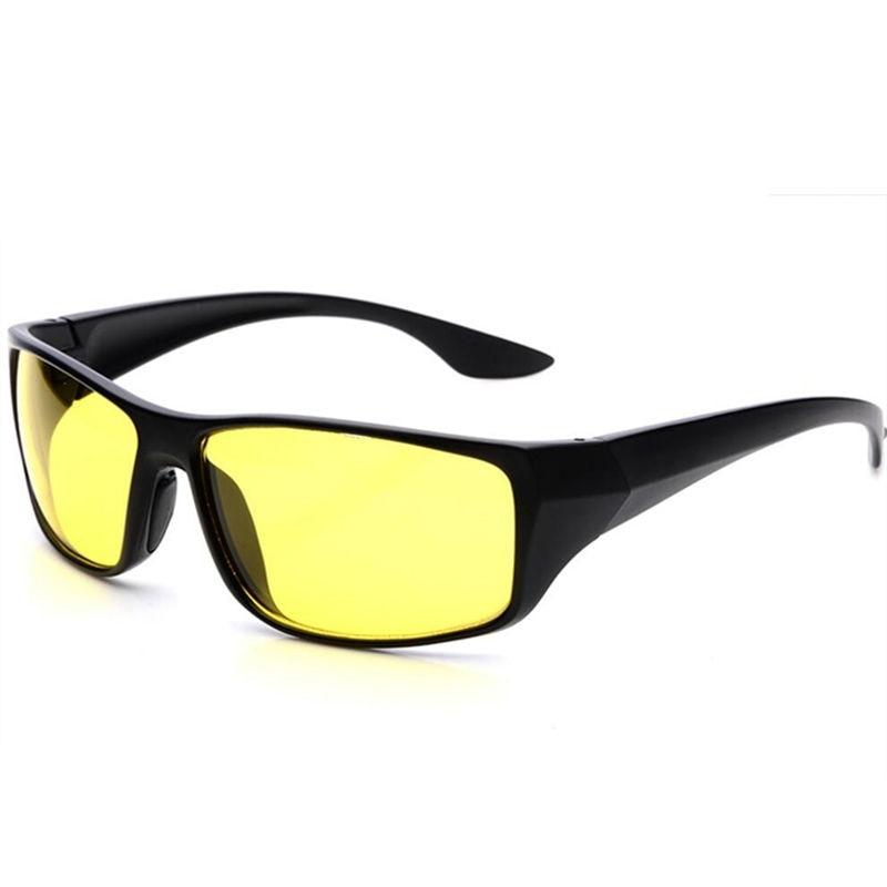 TAC HD  Sunglasses Men Women Night Vision Driving Glasses Goggles Driver Aviation Yellow Sun Glasses