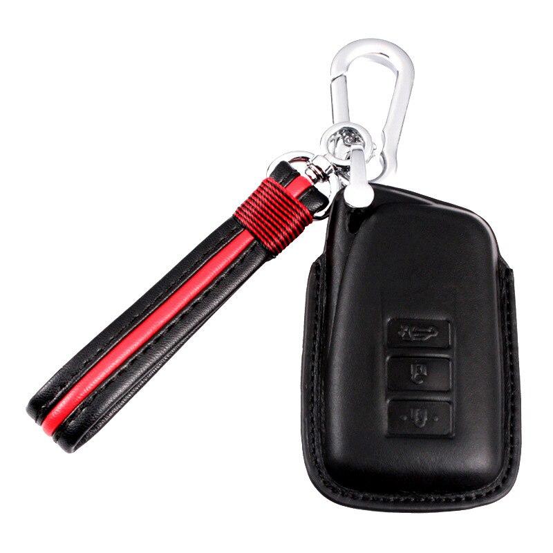 Couro caso chave do carro capa para lexus nx200 es200 250 rx200t caso chave escudo es rs gs é lx série nx