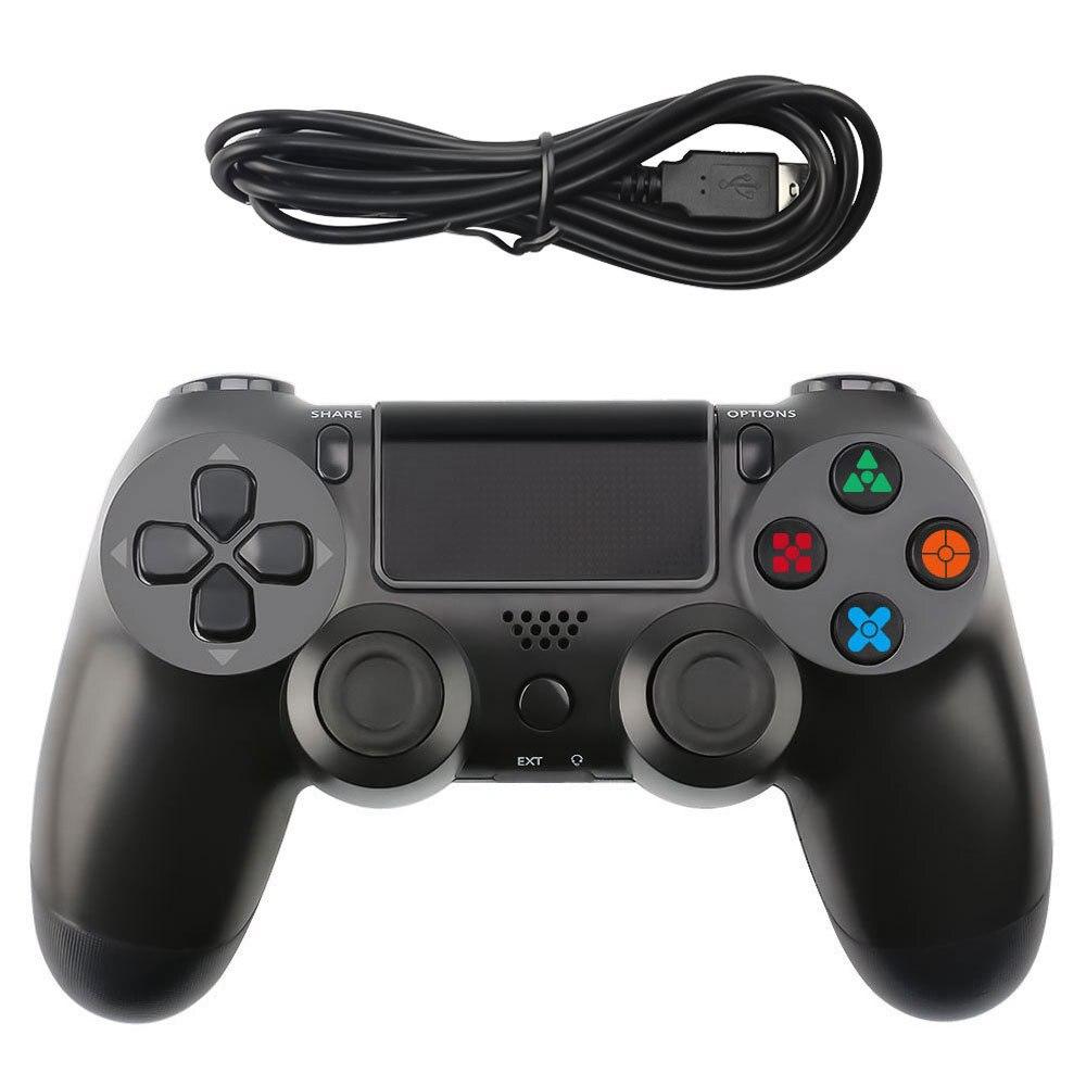 Controle de videogame de ps4, acessórios para jogos de celular, joystick gamepad usb, controle de joypad, dualshock play station ps 4