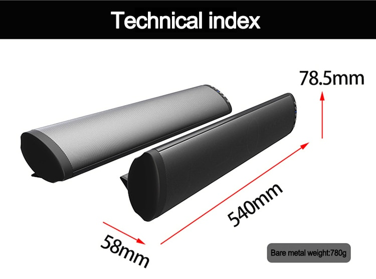 20W TV Soundbar for Home Cinemas P Wireless Bluetooth Speaker Super Bass Stereo Speaker C with RCA Optical Auxiliary Cable enlarge