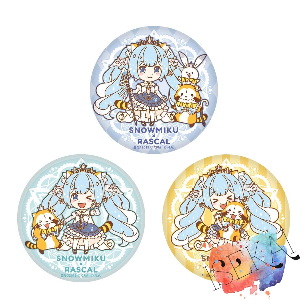 VOCALOID Hatsune Miku Anime insigne neige Miku mignon métal Badge broche broches
