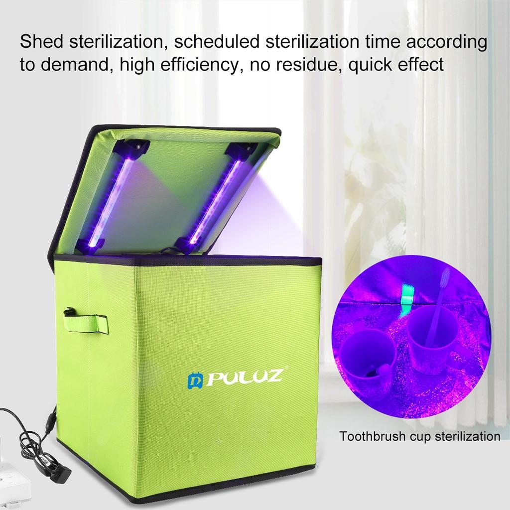 Caja de Esterilizador UV para manicura, esterilización en seco, UVC, desinfección de...