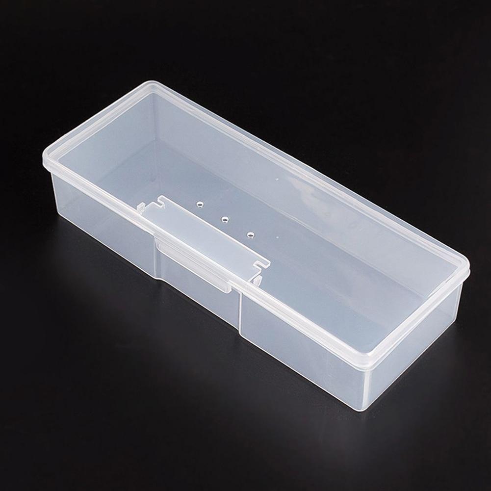 Stockage facile à utiliser classer affichage Durable en plastique professionnel maison semi-transparent organisateurs boîte à outils à ongles