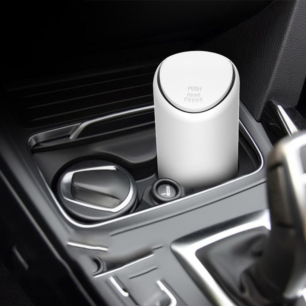 1Pc Silicone Mini Car Trash Can Auto Trash Bin Organizer Car Garbage Bin Ashtray Dust Case Holder Rubbish Bin Auto Accessories