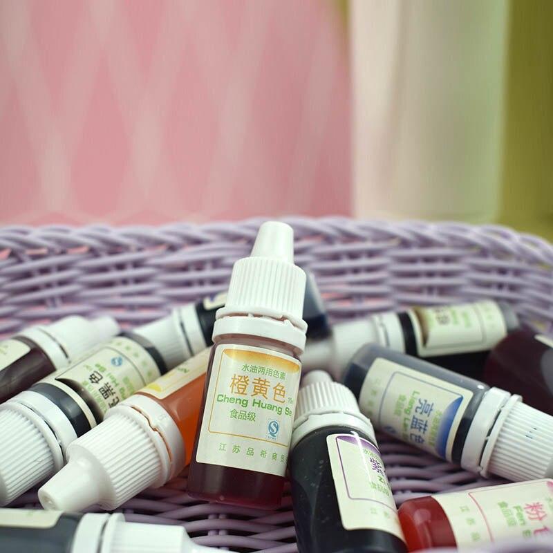 Pigmento de teñido Slime Crystal Mud resina UV aceite de agua de teñido pigmento de doble uso DIY Craft UND Sale