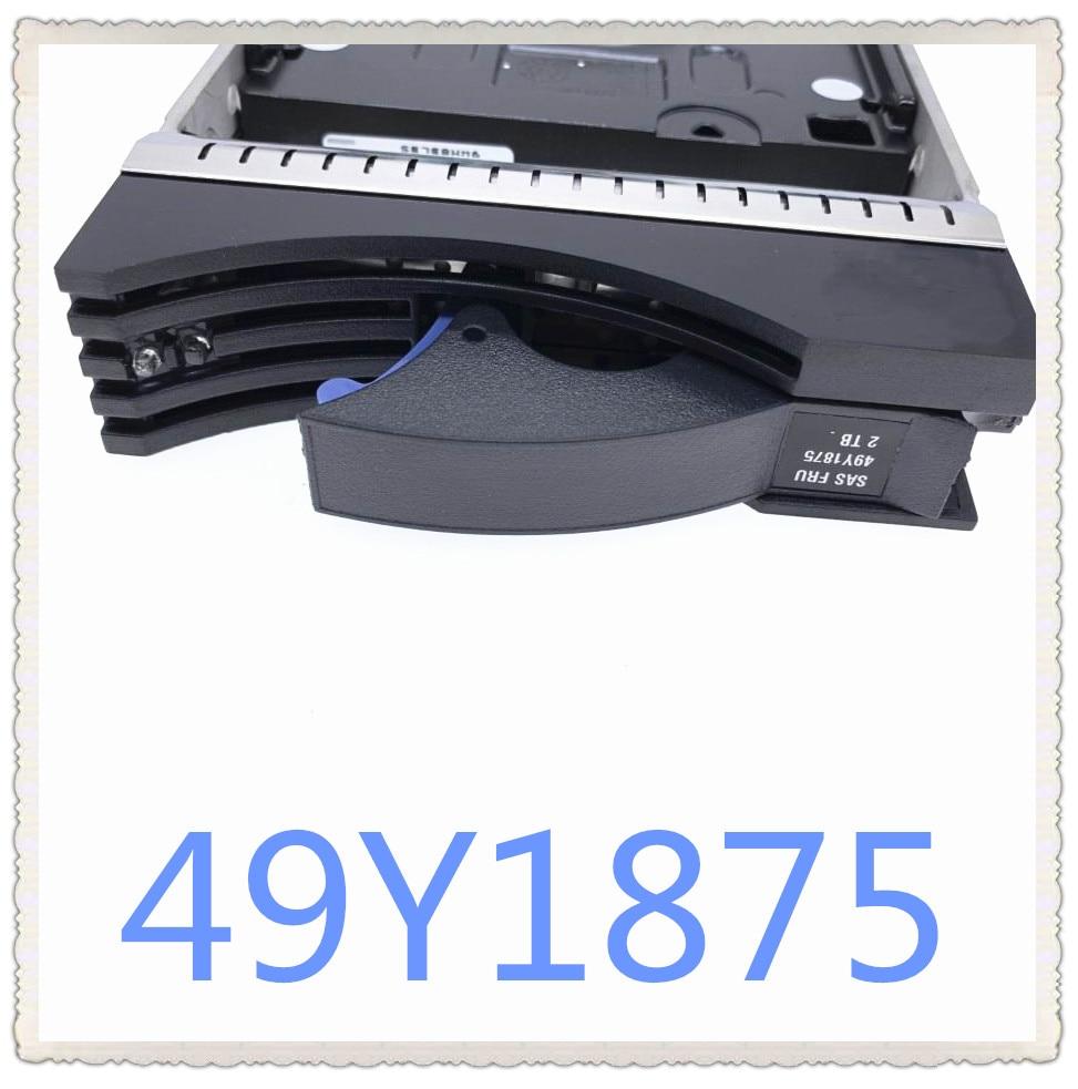 49Y1875 49Y1871 2 تيرا بايت SAS 7.2K DS3512 DS3500 ضمان جديد في المربع الأصلي. وعد بالإرسال خلال 24 ساعة رملية