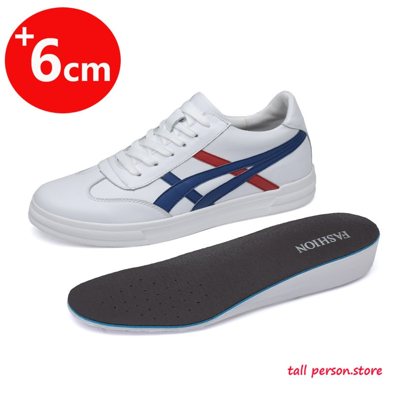 Sports Shoes Men Increase 6cm Men's Shoes Height Casual Men Shoes Elevator Shoes Tall Man Tall Shoes