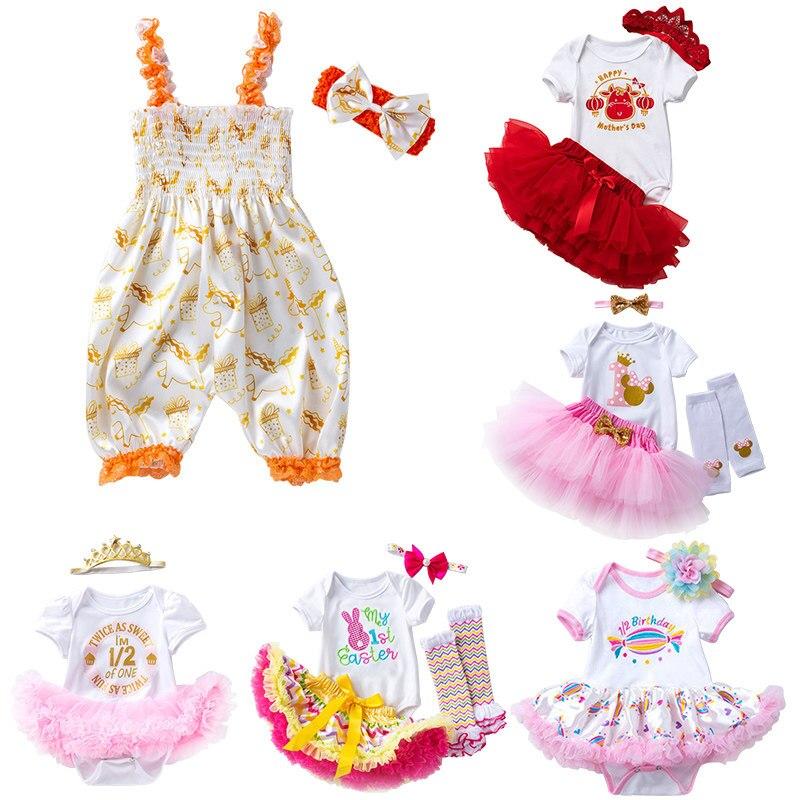 Хорошая цена Милая Одежда для кукол для переменного тока, 50-58 см возрождающая Кукла-младенец Реалистичная кукла одежда для 22 дюймов аксессу...