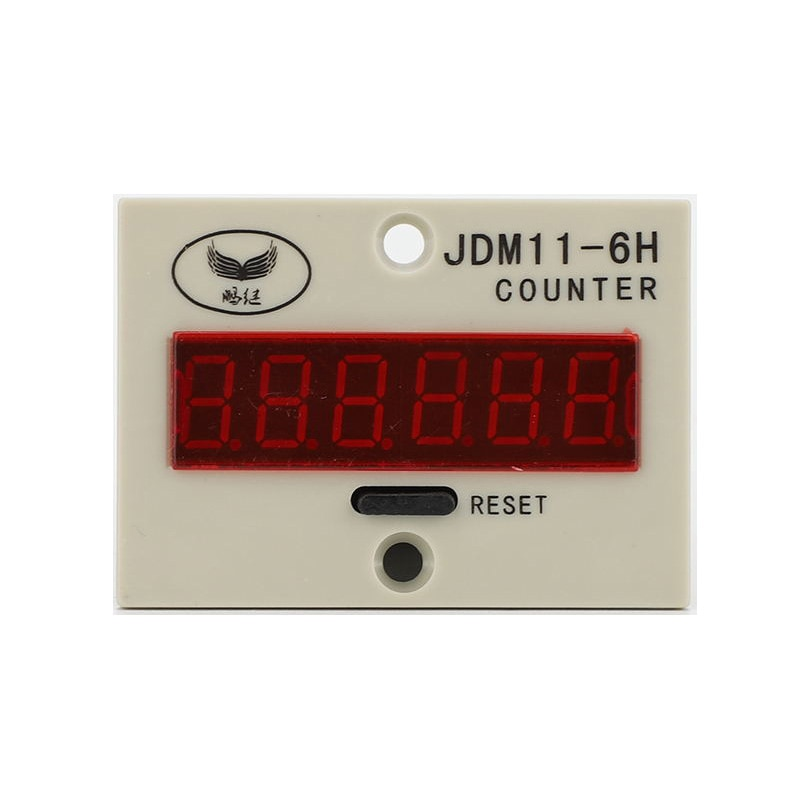 JDM11-6H 6 cyfrowy licznik uderzenie indukcji magnetycznej licznik elektroniczny tłokowych obrotowy licznik mechaniczny