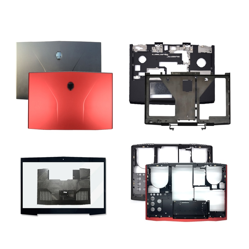 Cubierta trasera Lcd para portátil DELL Alienware M17X R3 R4, bisel frontal,...