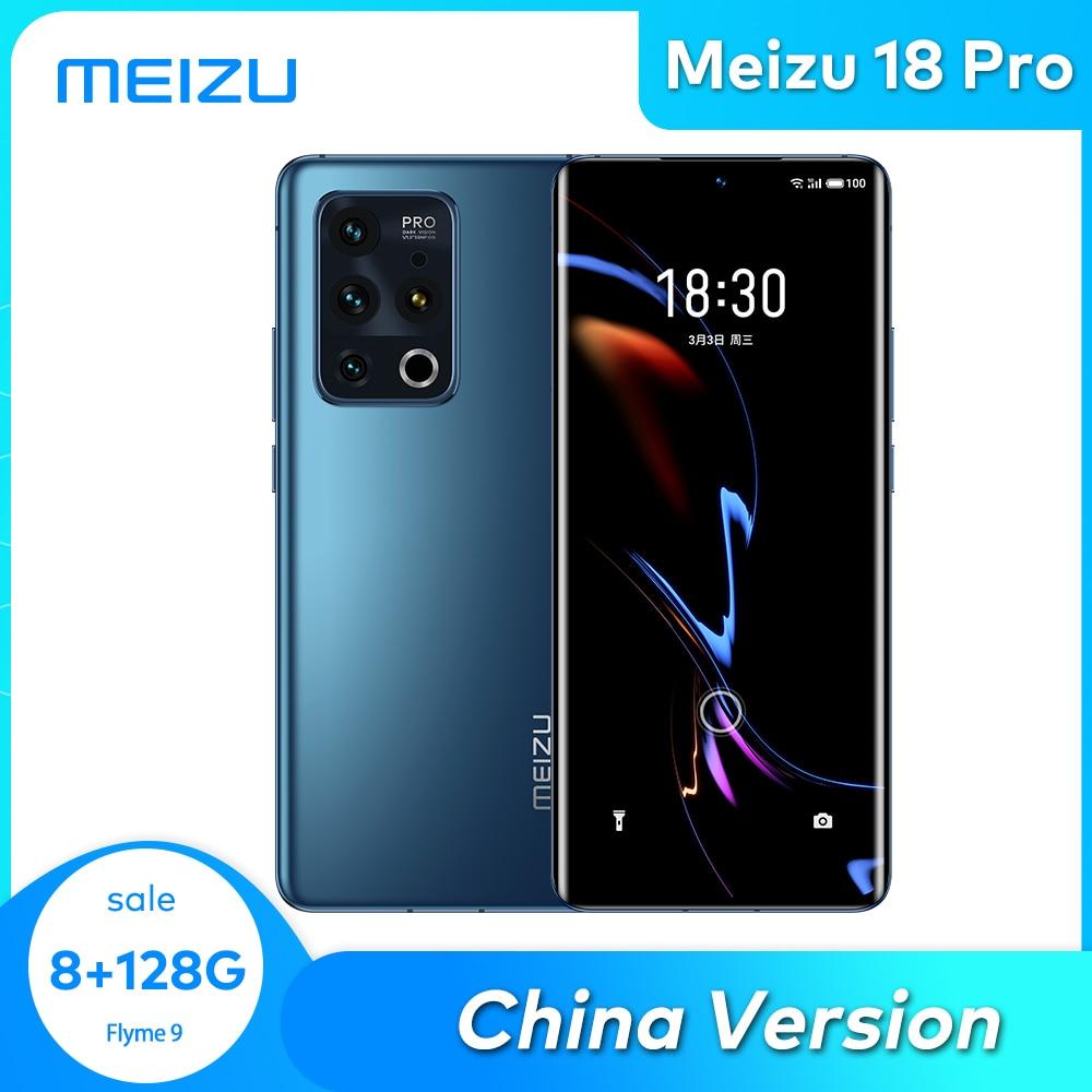 Meizu-teléfono inteligente 18PRO, 8/12GB, 128/256G, 5G, Snapdragon 888, ocho núcleos, NFC, UFS3.1,...