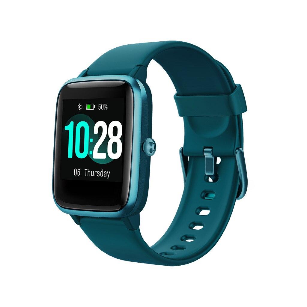 Relógio inteligente ipx68 sm da tela de alta definição de 1.4 polegadas da frequência cardíaca e da pressão arterial da pulseira do completo-toque