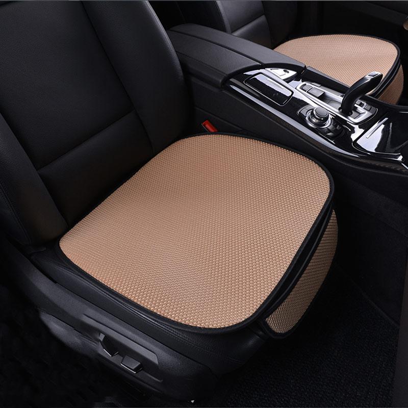 Cubierta universal de asiento de coche fundas para cojín de coche para Kia Carens Carnival Ceed Cerato Forte K2 K3 K5 K7 Mohave Morning
