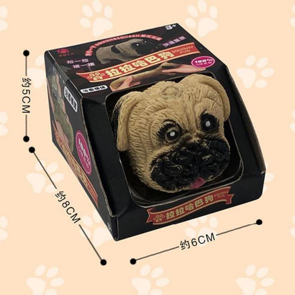 Fidget Toys Plastic Stretch Puppy Slow Rebound Decompression Pug Dachshund Pinch Toy Venting Anti-Stress Toy For Adult Children enlarge