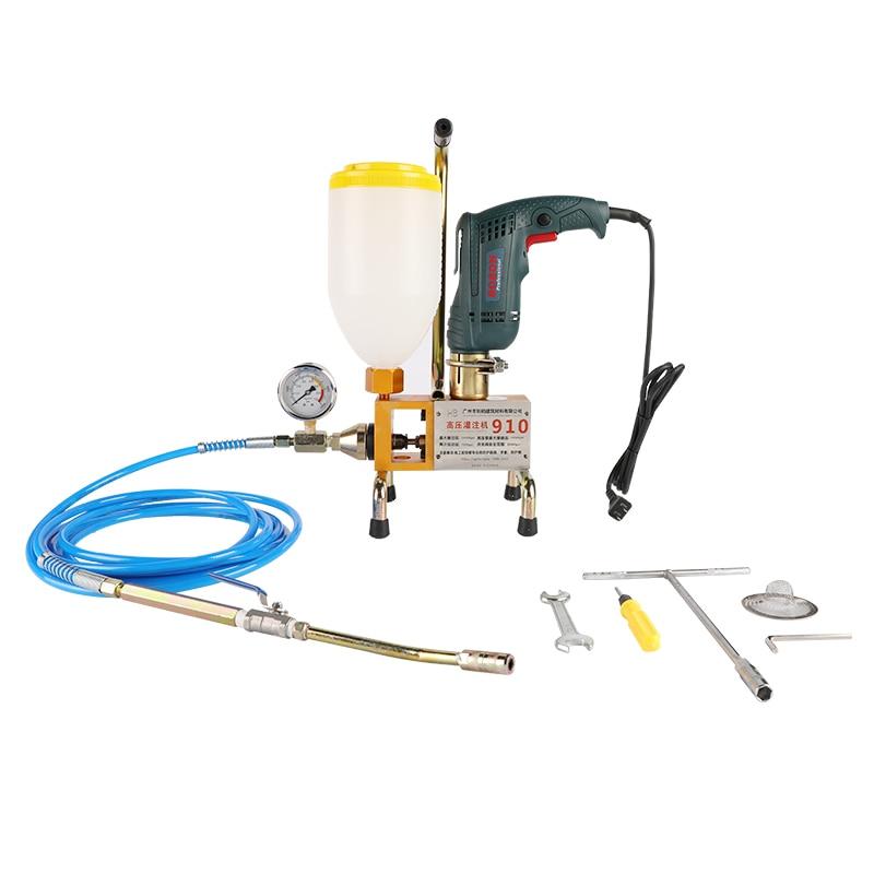 waterproofing high pressure pu foam injection pump for crocrete crack repair