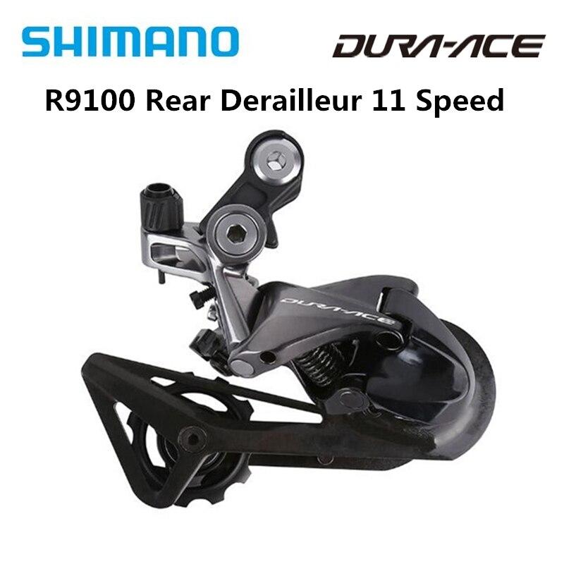 Shimano Dura-Ace R9100 RD-R9100 Bici da Strada Parti di Biciclette 11 Velocità Deragliatore Posteriore Ss Originale R9100 Deragliatore