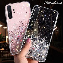 Glitter Star Fall Für Samsung Galaxy A70 A50 A10 A20 A30 A60 A80 A90 A20S A10S A20E Hinweis 10 9 8 S11 S10 S9 S8 Plus S10E Abdeckung