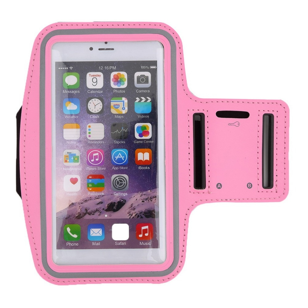 Hot Worldwide Premium Running Jogging Sports GYM Armband Case Cover Holder for iPhone 6 Plus Promotion