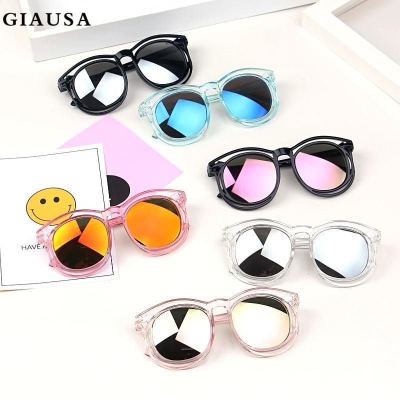 GIAUSA 2020 Kids Polarized Sunglasses Cute Baby Fashion Brand Kids Anti-uv Baby Sun-shading Eyeglasses Girl Boy Sungl