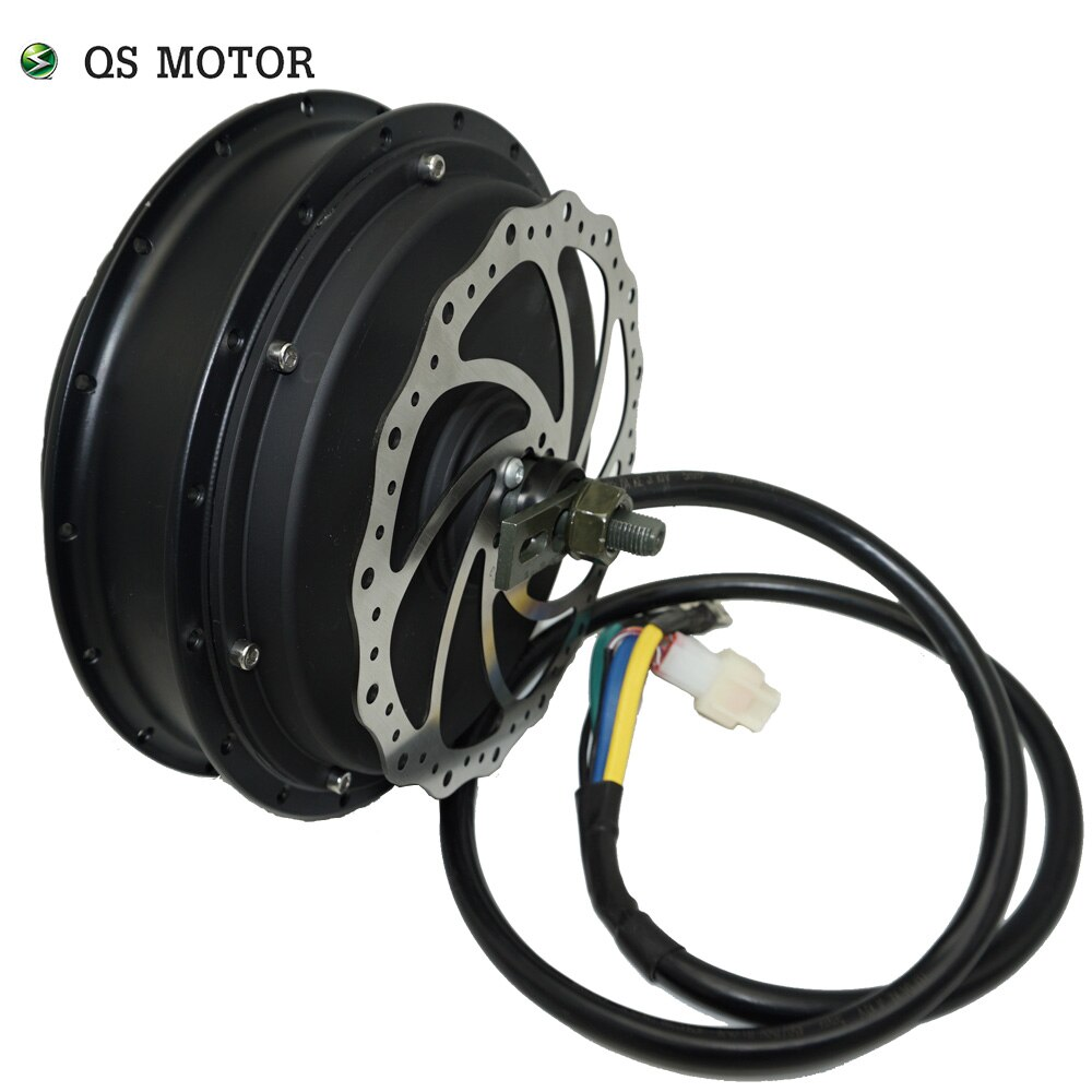 QS Motor 3000W 205 50H V3TI Peak 5000W bicycle electric hub motor/bicycle spoke motor/e-bike motor enlarge
