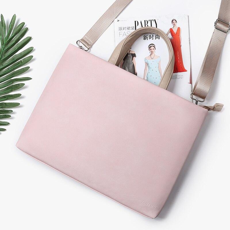 AliExpress - Laptop Bag 13.3 15.6 14 12 inch Waterproof Notebook Bag Sleeve For Macbook Air Pro 13 15 Computer Shoulder Handbag Briefcase Bag