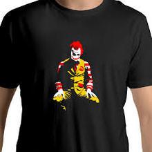 تي شيرت رونالد ماكدونالد جوكر