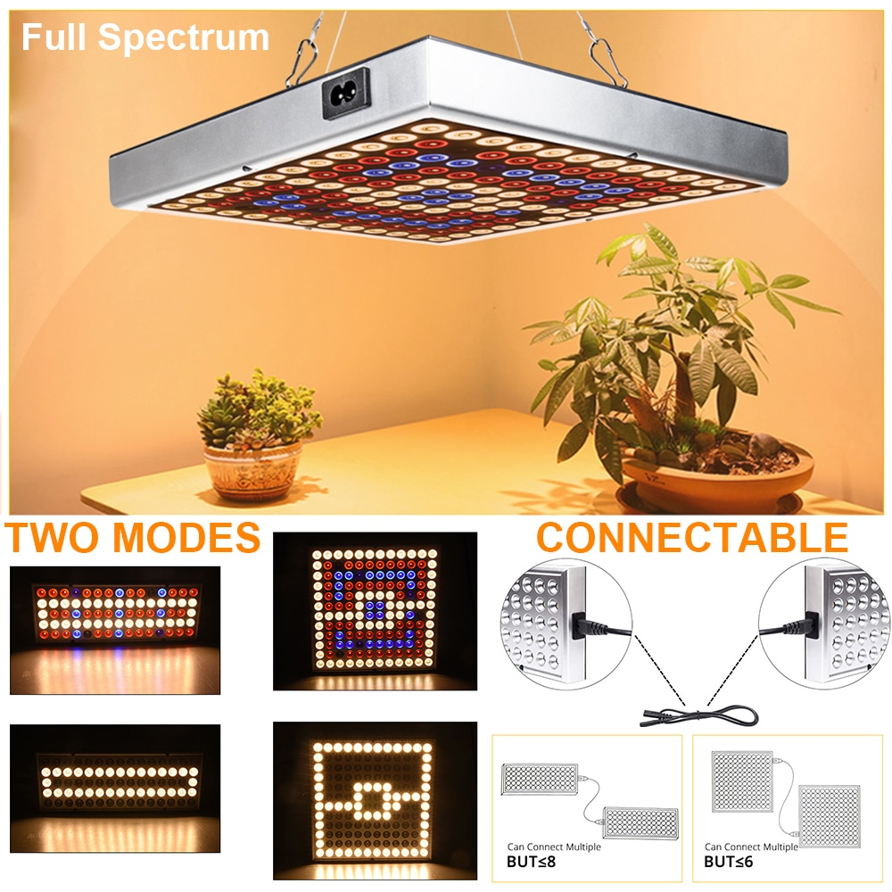 grow tent box for indoor hydroponics greenhouse plant lighting tents 60 80 100 cm growing tent 45W LED Grow Light Greenhouse Hydroponics Plant Spotlight Full Spectrum Grow Tent Floodlight Indoor Lighting Plant Growth Lamp