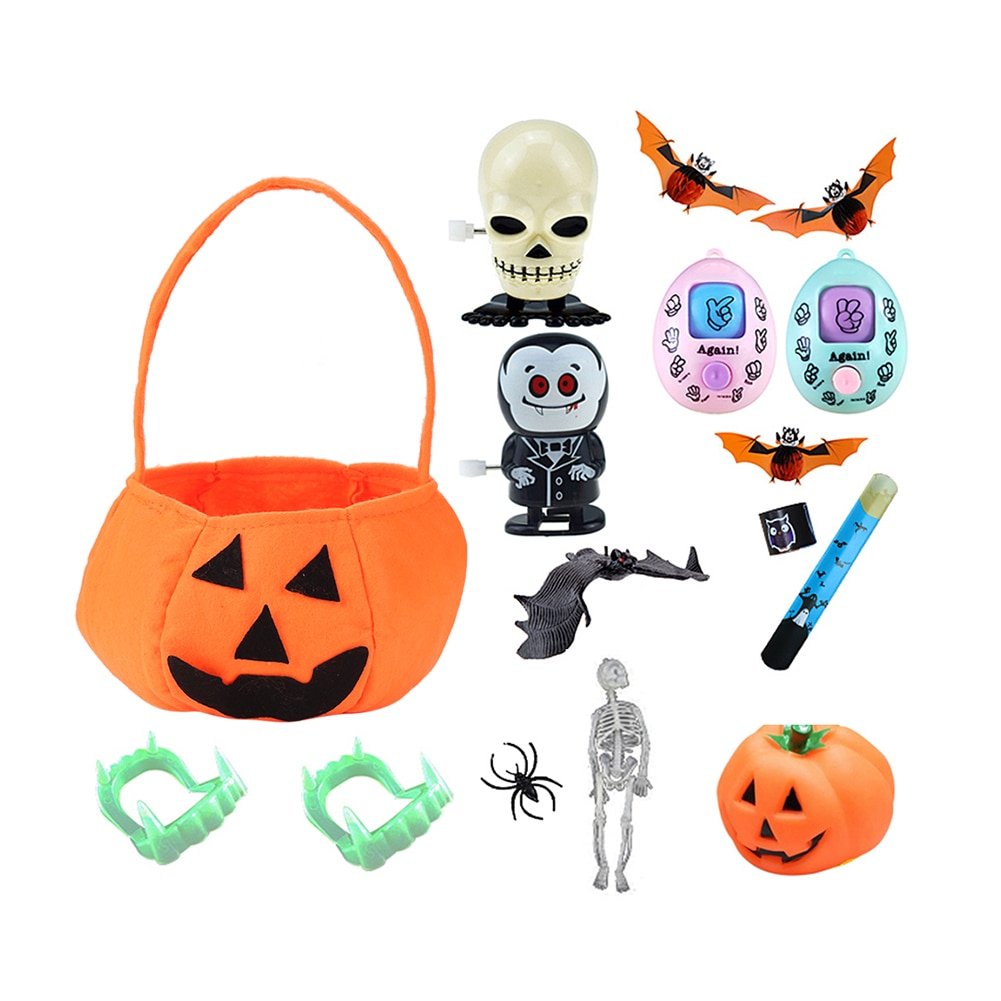 conjunto de brinquedos de descompressao para halloween 16 pecas serie horror caveira